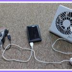 猫のお留守番用に購入した卓上扇風機の再利用